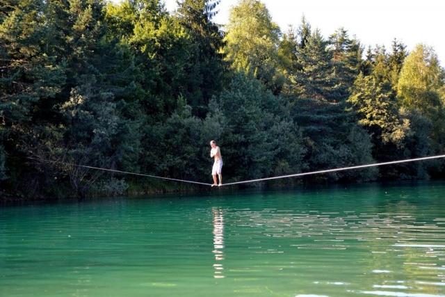 Georg's Waterline Exposure im Waldbad Anif