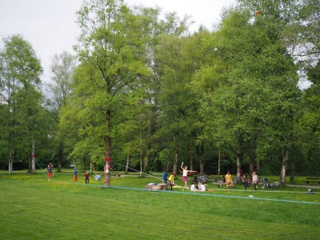 Sommerquartiere Hans Donnenberg Park im Salzburger Nonntal